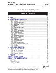 Property Loss Prevention Data Sheet 7-73 - FM Global