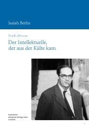 Der Intellektuelle, der aus der Kälte kam. (PDF)