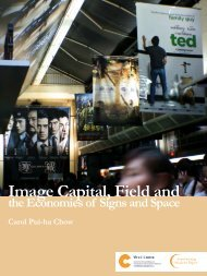Image Capital, Field and - The Chinese University of Hong Kong