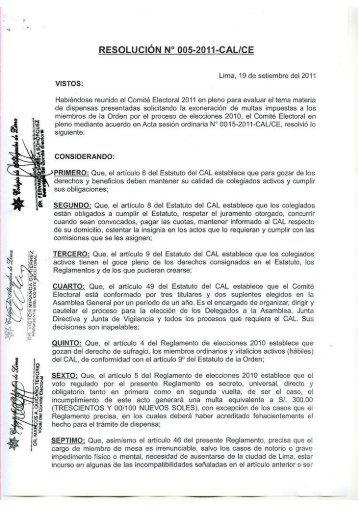 Impresión de fax de página completa - Colegio de Abogados de Lima