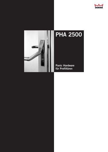 PHA 2500