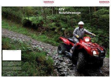 ATV Nutzfahrzeuge - Honda