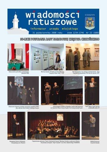 31 pazdziernika.pdf - Cieszyn.pl