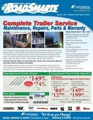 Roadsmarts 2008 - Universal Truck & Trailer