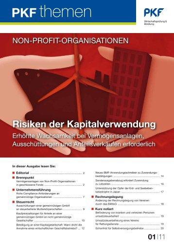 Risiken der Kapitalverwendung