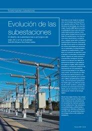 Evolución de las subestaciones - Contact ABB