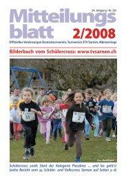 Mitteilungs blatt 2/2008 - TV Sarnen