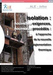 Isolation : - ALE