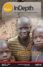 Issue 19 - 2012 - Jesus Loves Children - Biblica