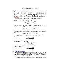 Livello 4: Esercizi con soluzione 28. (Gas prerfetto - Eq. di stato) Due ...