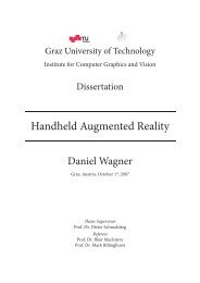 Handheld Augmented Reality - CiteSeerX