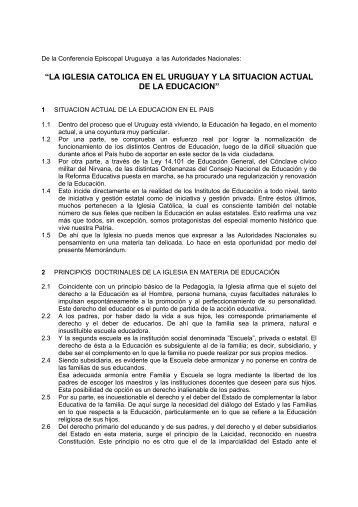 La-Iglesia-Catolica - Iglesia Católica Conferencia Episcopal del ...