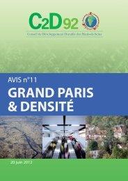 Le Grand Paris - Urbamet - Ministère du Développement durable