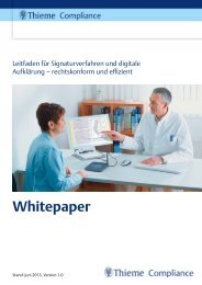 Whitepaper Digitale Signatur - E-ConsentPro
