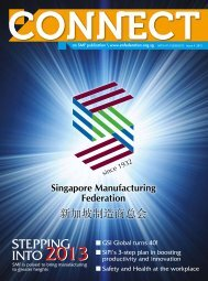 CONNECT Issue 4/2012 - Singapore Manufacturing Federation