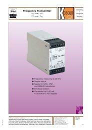 Frequency Transmitter - Kobold Messring GmbH