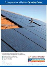 Canadian Solar PV - Warmteservice