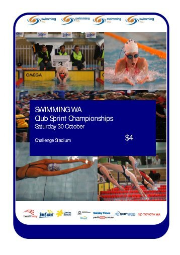 Club Sprint Championships - Swimming WA Results