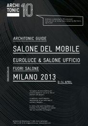 SAlONe Del MOBIle MIlANO 2013 - Mattiazzi