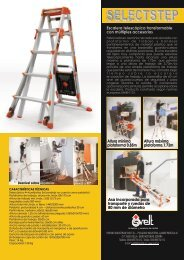 Ficha técnica escalera de aluminio multiposiciones ... - Logismarket