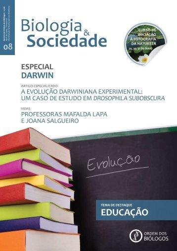 EDUCAÇÃO - Ordem dos Biólogos