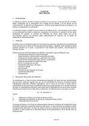 Clase VIII - Universidad Nacional Agraria La Molina