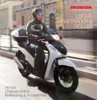 LEICHT- KRAFTRÄDER & ROLLER - Honda