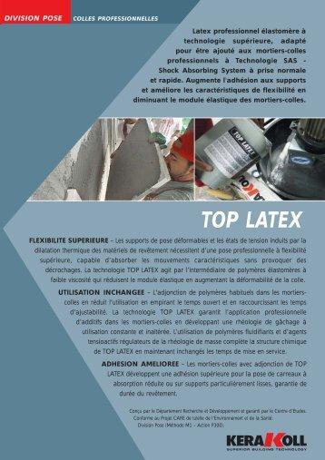 top latex - Kerakoll