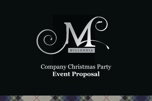 christmas party proposal template