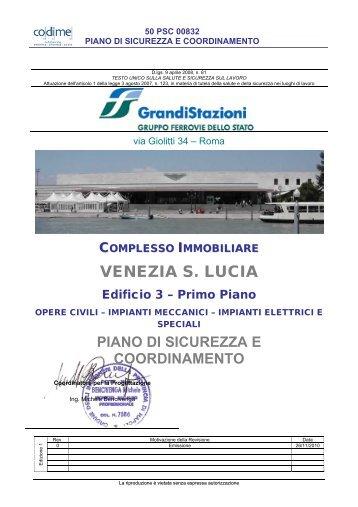 (P.S.C.) - Sezione Particolare Venezia Santa Lucia - Lotto n. 2