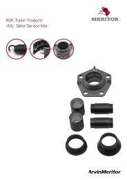 ROR Trailer Products 'AXL' Série Service Kits - Meritor