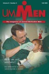 Fall 2005, No. 4 - United Methodist Men
