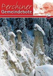 Perchiner Gemeindebote Nr. 01/2011 (5,33 MB)