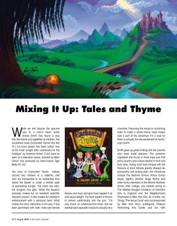 Mixing It Up: Tales and Thyme - Toon Boom Animation