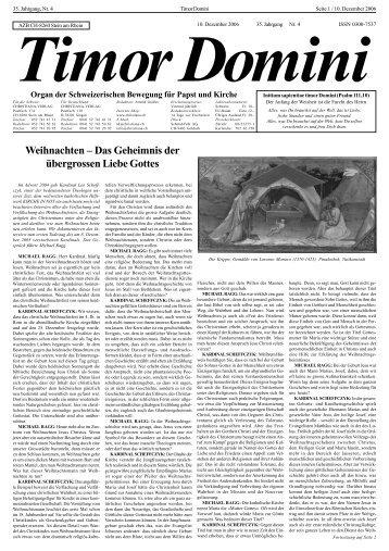 Weihnachten – Das Geheimnis der übergrossen ... - Christiana-Verlag