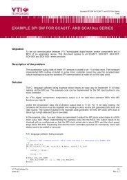 LPC2xxx SPI master code example - NXP com