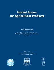Market Access for Agricultural Products. - Indian Institute of Public ...