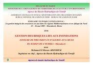 GESTION DES RISQUES LIES AUX INONDATIONS - INBO