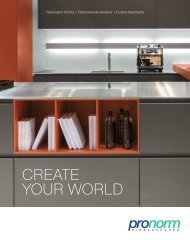 create your world - Pronorm
