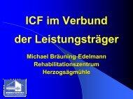 2004/1-9 Core-Set-Entwicklung ICF - Herzogsägmühle
