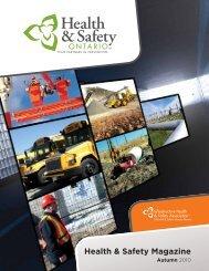 IHSA Health & Safety Magazine - Autumn 2010 - Infrastructure ...