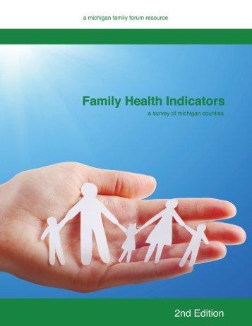 Download Family Health Indicators - Michigan Family Forum