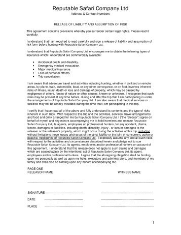 RIGHT OF ENTRY AND INDEMNITY AGREEMENT