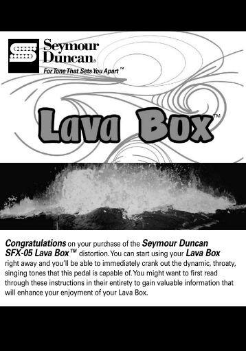 sd tone chart - Seymour Duncan