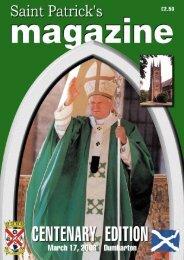 Centenary booklet - St Patrick's