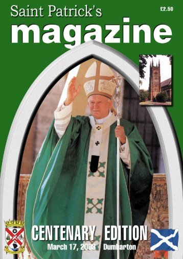 Centenary booklet - St Patrick's