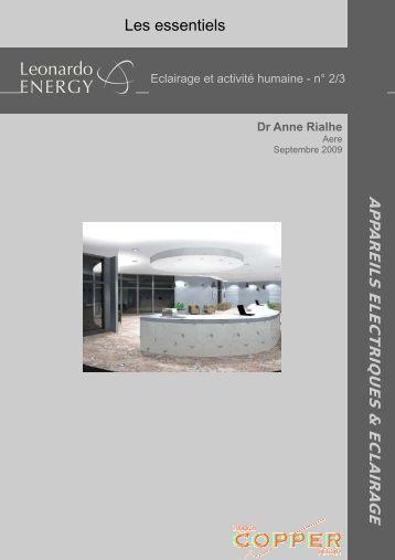 Eclairage et être humain n°2.pub - LEONARDO ENERGY