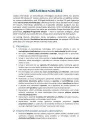 LIKTA rīcības plāns 2012