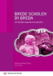brede school - Gemeente Breda