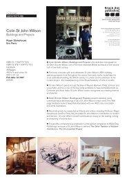Colin St John Wilson - Black Dog Publishing